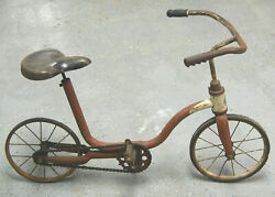 Richie Racer Or Rickey Racer Antique Bicycle With Skip-tooth Drive-train