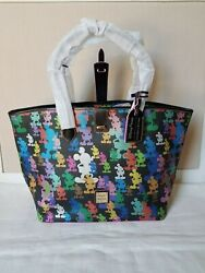 Disney Parks 10th Anniversary Wonder Mickey Mouse Large Tote By Dooney And Bourke
