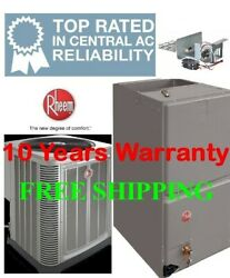 2 Ton R-410a 14seer Complete Electric System Condenser/air Handler With Coil