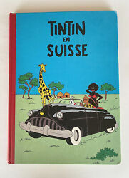 Tintin En Suisse, Prohibited Version, Editions Sombrero, Amsterdam 1983 French