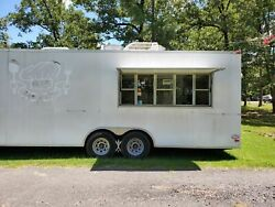 2008 - 8.5' x 26' Lark Commercial Mobile Kitchen Food Concession Trailer for Sal