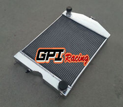 2x1 For Ford 2n/8n/9n Tractor W/chevy 350 5.7l V8 Engine Aluminum Radiator