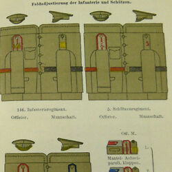 German Internal Russian Army Survey Book 1912 Russia Austro-hungarian Officers