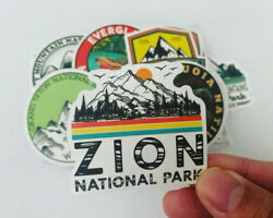 50 National Parks Outdoors Stickers Decals for Hydro flasks Laptops