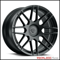 Blaque Diamond 20 Bd-f12 Black Concave Wheel Rims Fits Honda Accord Coupe