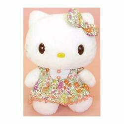 Sanrio Hello Kitty Plush Toy Liberty A-line Dress M Sized About 19.5andtimes16andtimes25cm