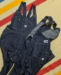 New Post Overalls Oand039alland039s Usa Flannel Pocket Lined Denim Utility Bib Overalls Xl