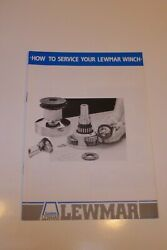 Lewmar Winch Service Manual For 1980and039s - 3 Speed And Self-tailing Winches