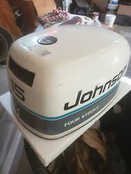 Johnson 15 Hourse Power Outboard Motor Cowling