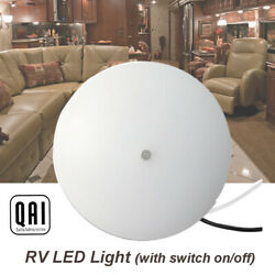 12v Rv Led Light 4.9 Inch Interior Surface Mounted With Switch On/off 2pcs