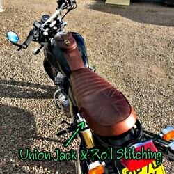 Royal Enfield Seat Pu Synthetic Leather For Interceptorcontinental Gt650