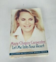 Mary Chapin Carpenter Let Me Into Your Heart Cassette Single 1996 Sony Po Gc