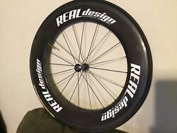 Real Design 90mm Full Carbon Clincher. Ultrasonic 90 Front
