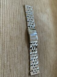 Breitling 22mm Pilot Stainless Steel Bracelet Band With Deployment Buckle Watch