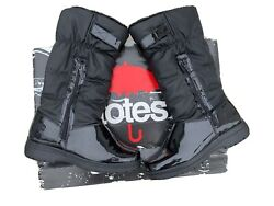 Totes Waterproof Snow Winter Boots Black Thermolite Insoles boots size 8M $29.50