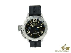 U-boat Classico Sommerso Automatic Watch Steel Black 46 Mm 9007/a/rb