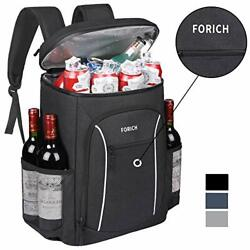 FORICH Cooler Backpack Portable Soft Backpack Coolers Insulated Leak Proof Large $45.36