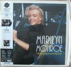 Vinyl LP Marilyn Monroe I WANNA BE LOVED BY YOU Remastered LP + Tote Bag Ltd Ed