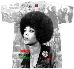 Angela Davis T Shirt. Power Sublimation Tee Men Ladies#x27; and Youth Sizes.