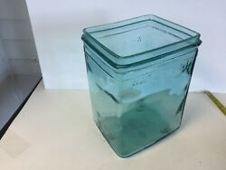Rare Glass Battery Box Jar Excellent Condition Ford Chevrolet Hudson