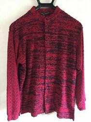Issey Miyake Total Pattern Long Sleeve Shirt Purple Size 1 Prompt Decision Dhl