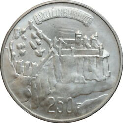 Luxembourg 250 Francs 1963, Bu, 1000th Anniversary - Luxembourg City