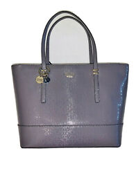 NEW GUESS FACTORY ABBY TRAVEL WOMEN#x27;S LOGO PRINT TOTE COLOR GRAY G7618911 $39.99