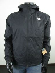 Mens TNF The North Face Boreal Dryvent Waterproof Hooded Rain Jacket Black $80.70