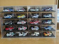 Deagostini Rally Car Collection Nos. 21 - 40 Set Of 4 Diecast 1/43 Japan F/s