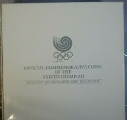 1988 Seoul Olympics Brilliant Uncirculated Coin Collection