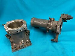 1957-1962 Rochester Fuel Injection Experimental Air Horns -very Rare