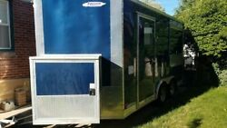 Turnkey 2017 Freedom Trailers 8.5' x 14' Beverage and Coffee Trailer for Sale in
