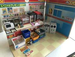 Re-ment Petit Convenience Store Background Board Miniature Toy Set Unused F/s