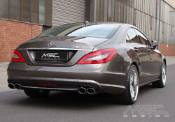 Mercedes Benz Cls W218 Performance Exhaust By Mec Design