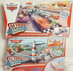 Disney Cars And Planes Action Shifters Lot Of 2 Sets Brand New And Sealed
