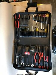 48 Piece Xcelite Tool Kit With Tools And Soldering Iron