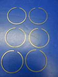 Continental Piston Rings Nos P/n 627480 Set Of 6 Nos 0720-103