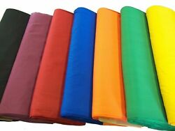 44 45quot; Broadcloth Fabric By The Yard Poly Cotton Blend