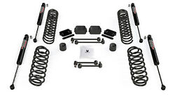 Fits Jeep Jl Coil Spring Base 2.5 Lift Kit And 9550 Vss Twin Tube Shocks For 1