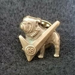 Vintage Mack Trucks Bulldog Pin Tie Tack with Check Mark 1968