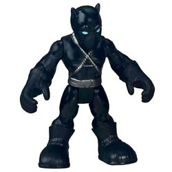 Black Panther Marvel Playskool Super Hero Adventure Figure 2.5quot; New Loose