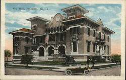 PensacolaFL Street View of City Hall Escambia County Florida S.H. Kress