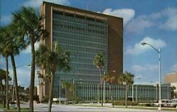 JacksonvilleFL City Hall Duval County Florida Marsh Post Card Service Postcard