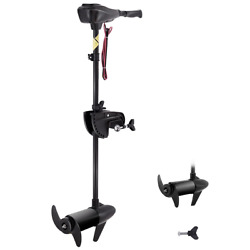 46lbs Transom Mounted Trolling Motor Fishing Boat Canoes Inflatable 36 Shaft