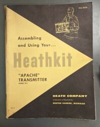 Heathkit Tx-1 Manual Apache Transmitter Assembly Using Unchecked