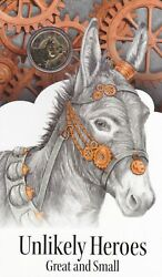 2015 Unlikely Heroes 1 Coloured Frosted Coin Murphy The Donkey.