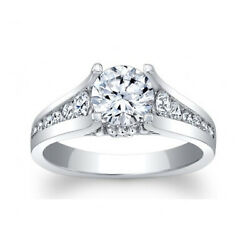 1.06 Ct Round Solitaire 950 Platinum Real Diamond Wedding Engagement Ring Size 7