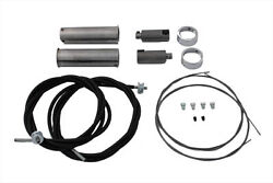 Cable Kit For Throttle And Spark Controls Fits Harley Fl 1949-1953