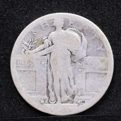 1917-s Standing Liberty Quarter - Type 1 - Ag Details 32057