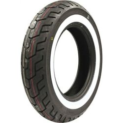Dunlop D404 Series Rear 150/90-15 Wide While Wall Motorcycle Tire